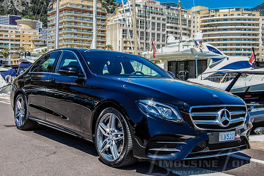 limousine tours monaco luxury car rental new e class mercedes. Black Bedroom Furniture Sets. Home Design Ideas