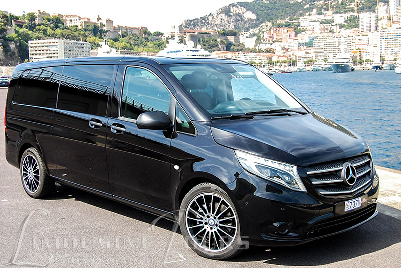 Limousine Tours Monaco Luxury Car Rental - Mercedes Vito ...