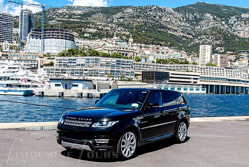 limousine tours monaco luxury car rental range rover. Black Bedroom Furniture Sets. Home Design Ideas