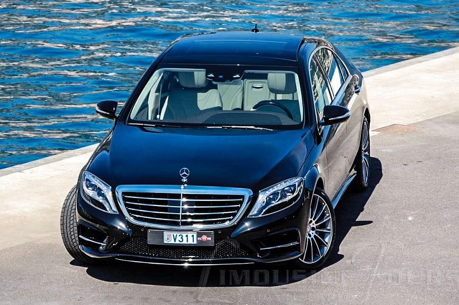 limousine tours monaco luxury car rental s class mercedes s350l facelift w222 with chauffeur. Black Bedroom Furniture Sets. Home Design Ideas